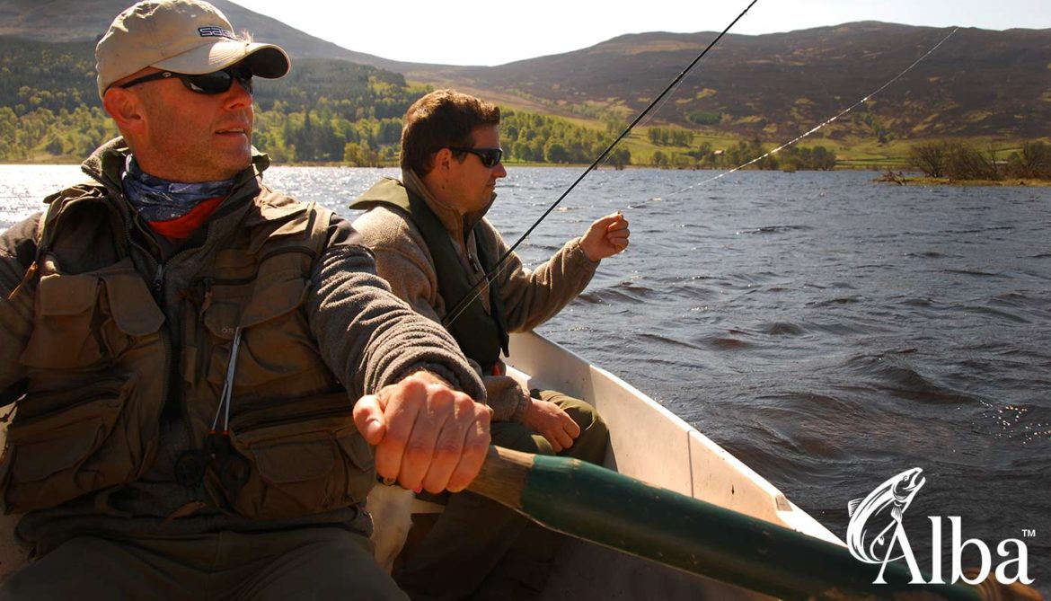 brown trout fishing, Orvis, Alba Game Fishing, Perthshire, brown trout, fly fishing, fishing guide, Orvis UK, best lochs in Scotland, UK, near Pitlochry, Blair Athol, Perth, best trout flies, Land Rover