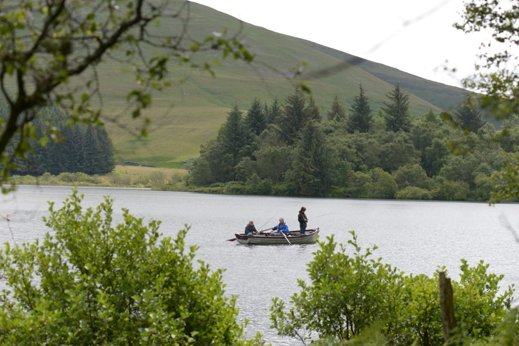 Pike Loch, Borders, guided pike fishing, Orvis guides
