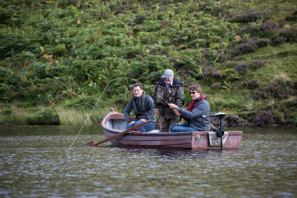 fly fishing trips near edinburgh, Scotland, trout fishing holidays, Fishing guide, Near Edinburgh, boat fishing, fishing near Edinburgh, trout loch, boat fishing for trout