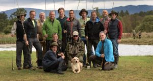 Corporate incentive group, fishing events, Fly fishing for beginners