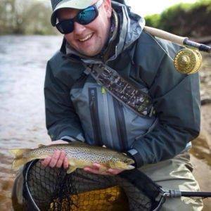 River Annan, Brown trout, Alba Game Fishing, fishing guide Annan,