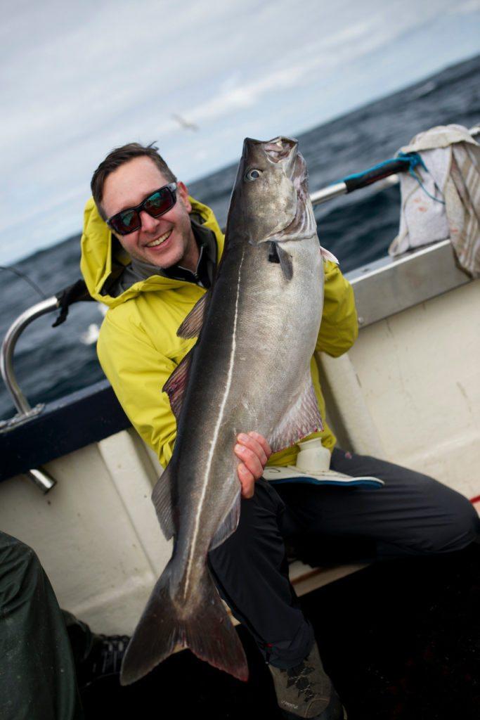 Sea fishing, Shetland, Scotland, Cod, coalfish