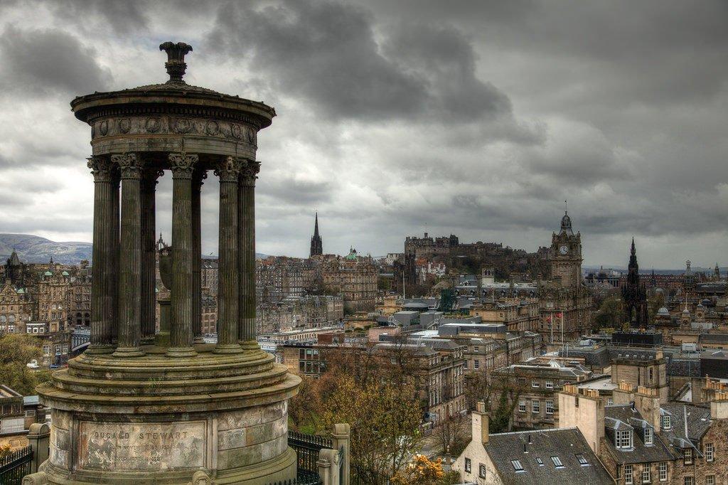 Edinburgh, Scotland's capital, Orvis fishing vacations, luxury fishing trips Edinburgh, Salmon fishing Tweed