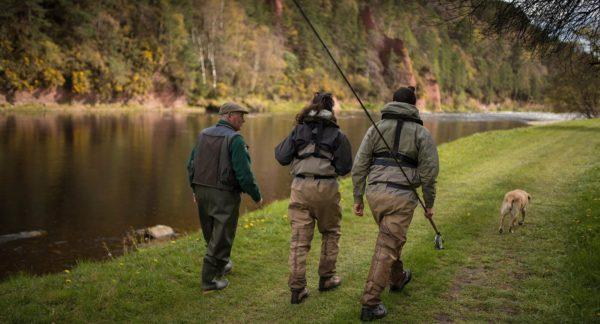 Fishing guide, salmon fishing, River Spey, Fishing trips, Scotland, fishing