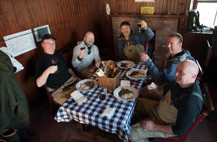 river dee, fishing lunch, Alba Game Fishing, catering, River near Aberdeen,