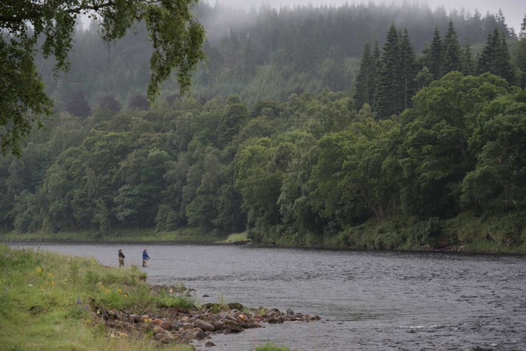 salmon fishing, river Tay, Orvis, Alba Game Fishing, Hidden Gems Vacation, Scotland