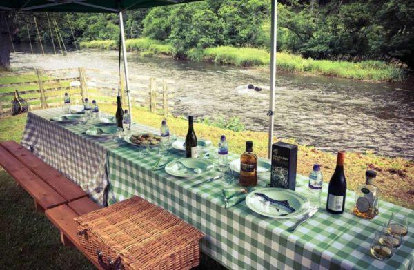 River Tweed, trout fishing, Scotland, Orvis Endorsed, Alba Game Fishing, fishing catering, organic ingredients