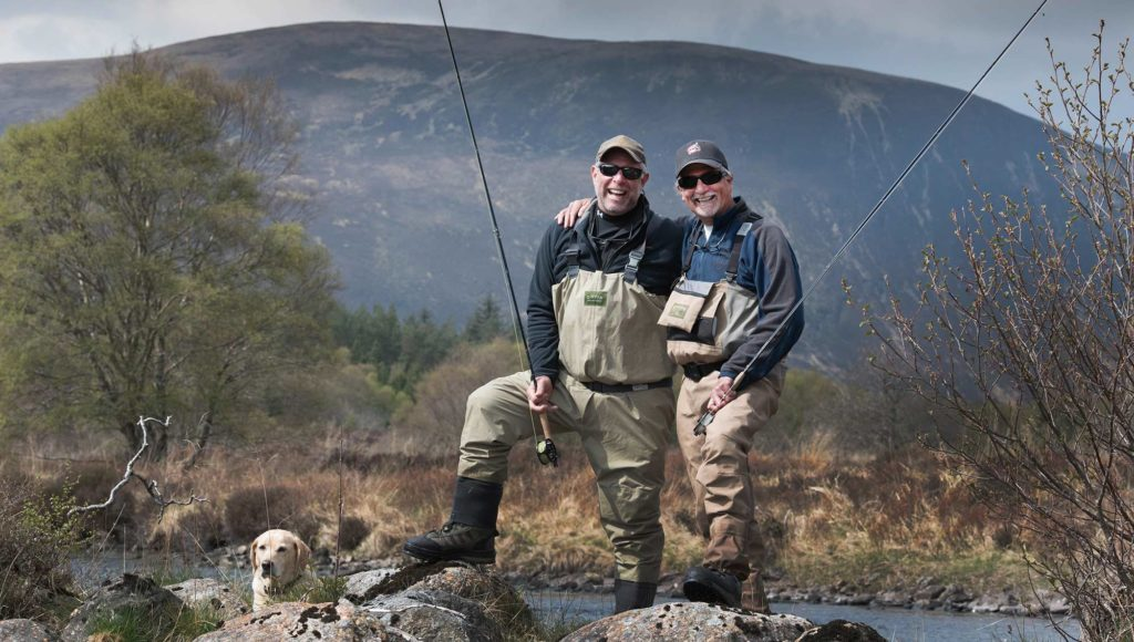 fly fishing, scotland, orvis UK, alba game fishing, river, dry fly, trout fishing
