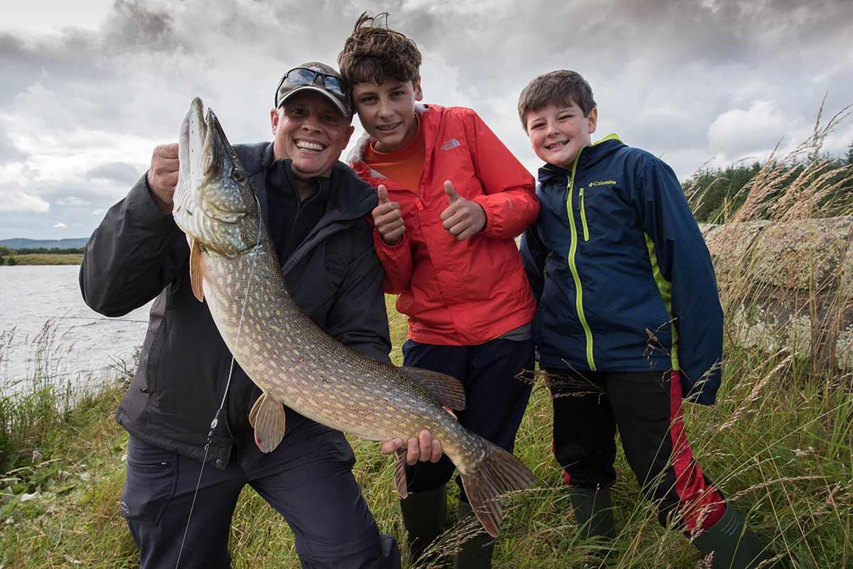 Pike fishing, near Outlander film location, fishing trips, best pike fishing, pike lochs, fishing guide, near Edinburgh, Edinburgh fisheries, Scotland, Alba Game Fishing