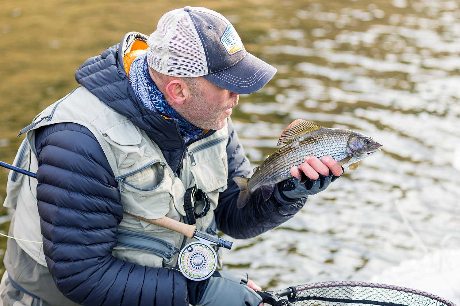 Winter Grayling, Grayling, Fishing, River Tweed, Tungsten Bugs, Orvis Helios 2, Alba Game Fishing, Lady of the Stream, New Zealand Strike Indicator