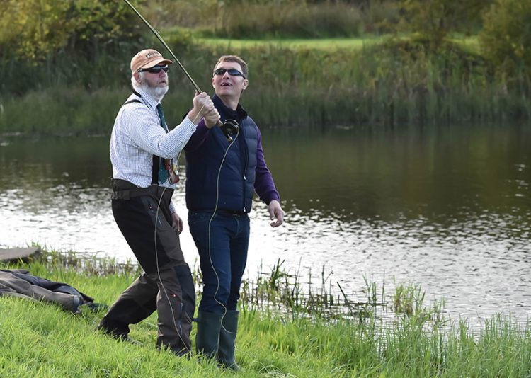 fishing guide, pike, trout, sea trout, salmon, SGAIC casting instructor, Spey Casting tuition, events, disclosure Scotland, First Aid trained
