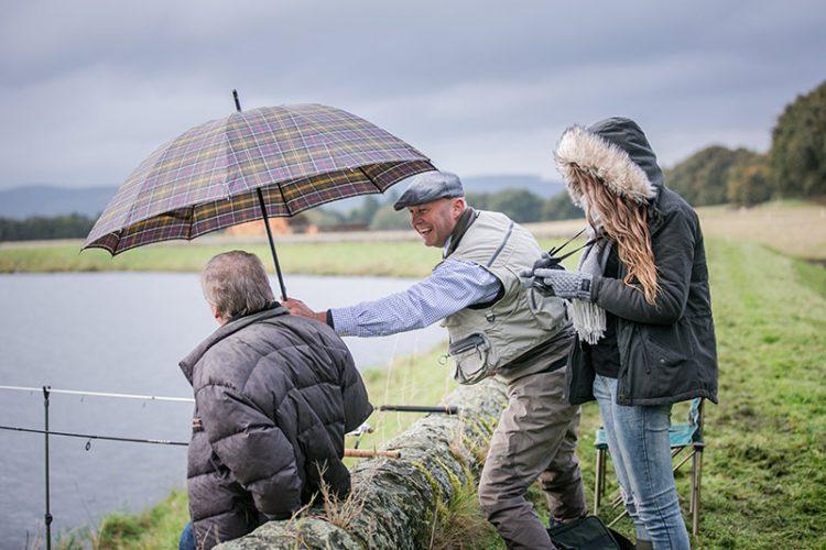 Father and Son, Fishing, Trip, Scotland, Trout, Fly Fishing, near Glasgow, Near Edinburgh, Private fishing loch, Pike, Luxury fishing, Fishing Guide