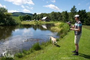 corporate fishing day, fishing event, corporate hospitality, outdoors, gourmet outdoor catering, Incentive days outdoors