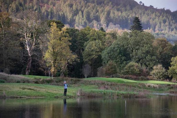 Loch Lomond, private loch, near Glasgow, Brown trout, rainbow trout, fly fishing, corporate event venue,
