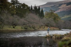 River Orchy, Salmon Fishing, Spey Casting, Fishing Guide, Argyll, West coast Scotland, Loch Awe, Grilse, Summer Salmon, Scotland, Scenic River, alba Game Fishing