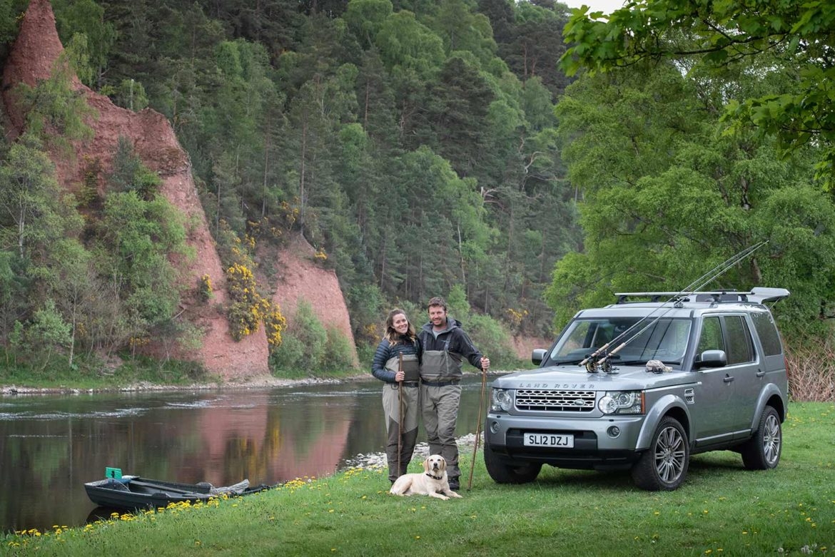 Salmon Fishing, Scotland, Spey, Vacation, Luxury, Land Rover Discovery, Spey Casting, Unique Tour
