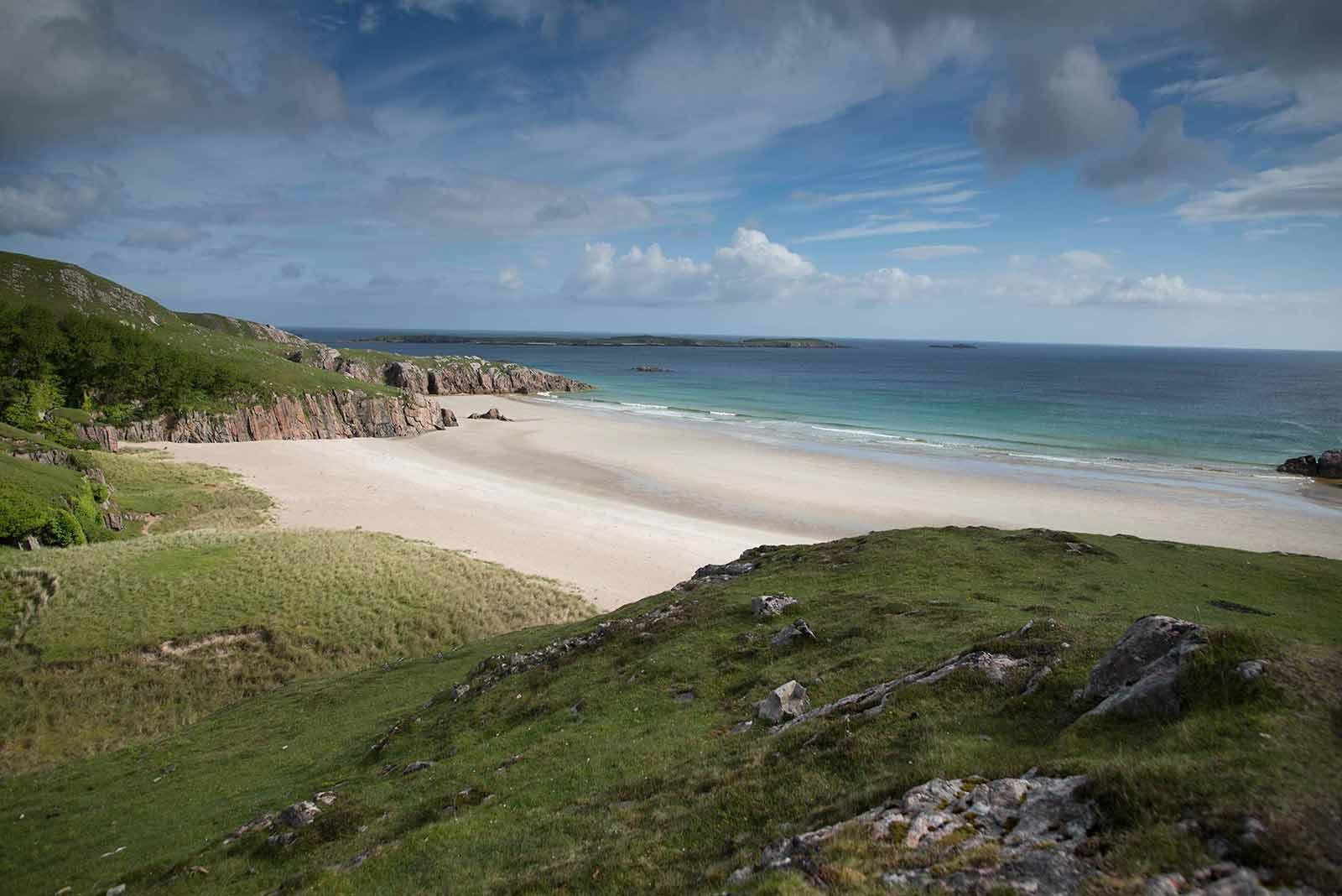 North Coast 500, Highland Beach, Caithness, Scotland the best, trout fishing, Balnakeil beach
