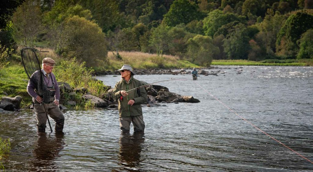 River Spey, Spey Casting, Ghillie, Ballindalloch, Salmon Fishing, fly fishing, fishing guide