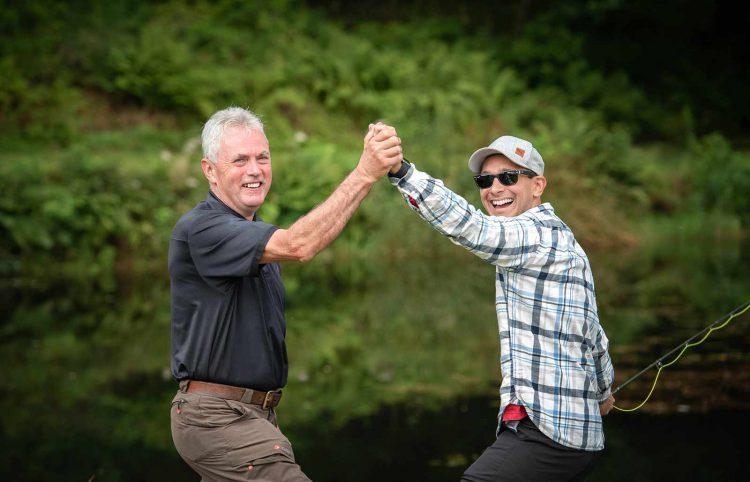 fishing guide, fly fishing, trout, Scotland, High Five
