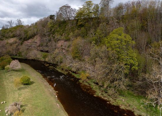 Whiteadder, river, salmon fishing, trout fishing, tributary, River Tweed