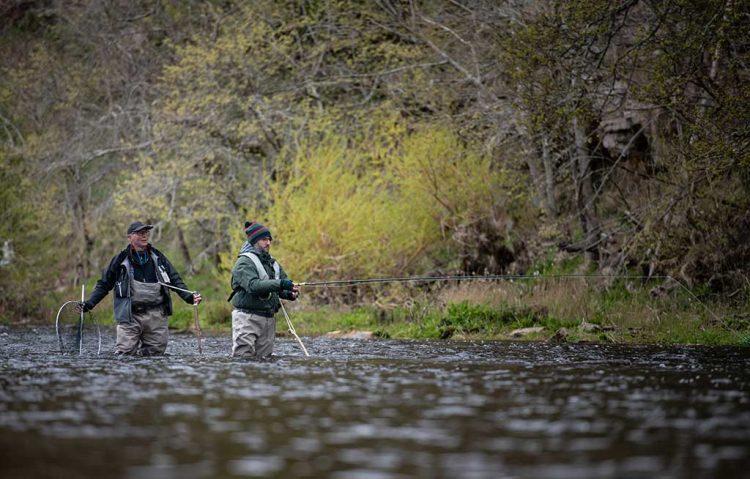 Whiteadder, river, salmon fishing, trout fishing, tributary, River Tweed