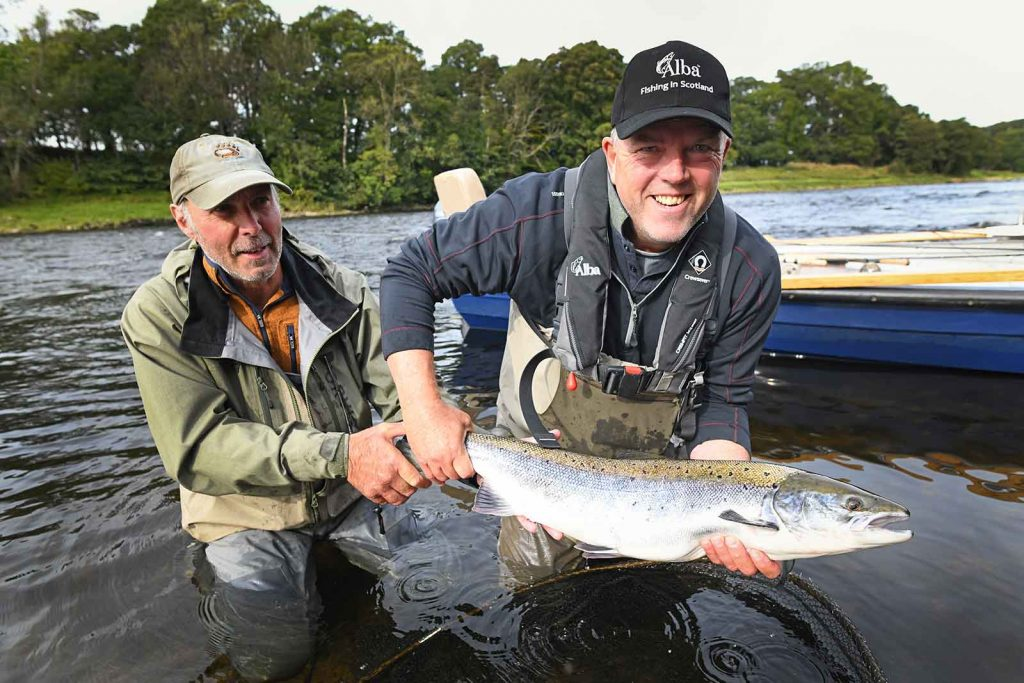 river tay, salmon, fishing, fly fishing, Atlantic Salmon, scotland, holidays, vacations, alba game fishing