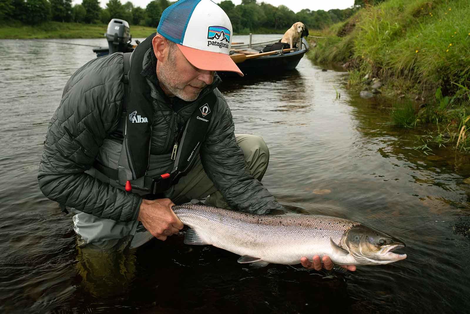 river tay, salmon, Stewart Collingswood, fishing, fly fishing, Atlantic Salmon, scotland, holidays, vacations, alba game fishing
