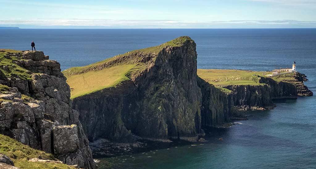 Neist Point, Pollack, Isle of Skye, Fishing, Tour, coastline, Scotland
