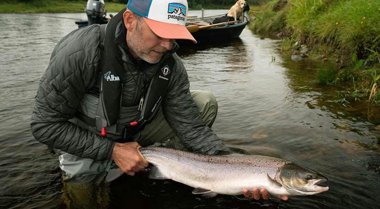 salmon, Atlantic salmon, fishing, speycasting, catch and release, River Tay, Salmon,