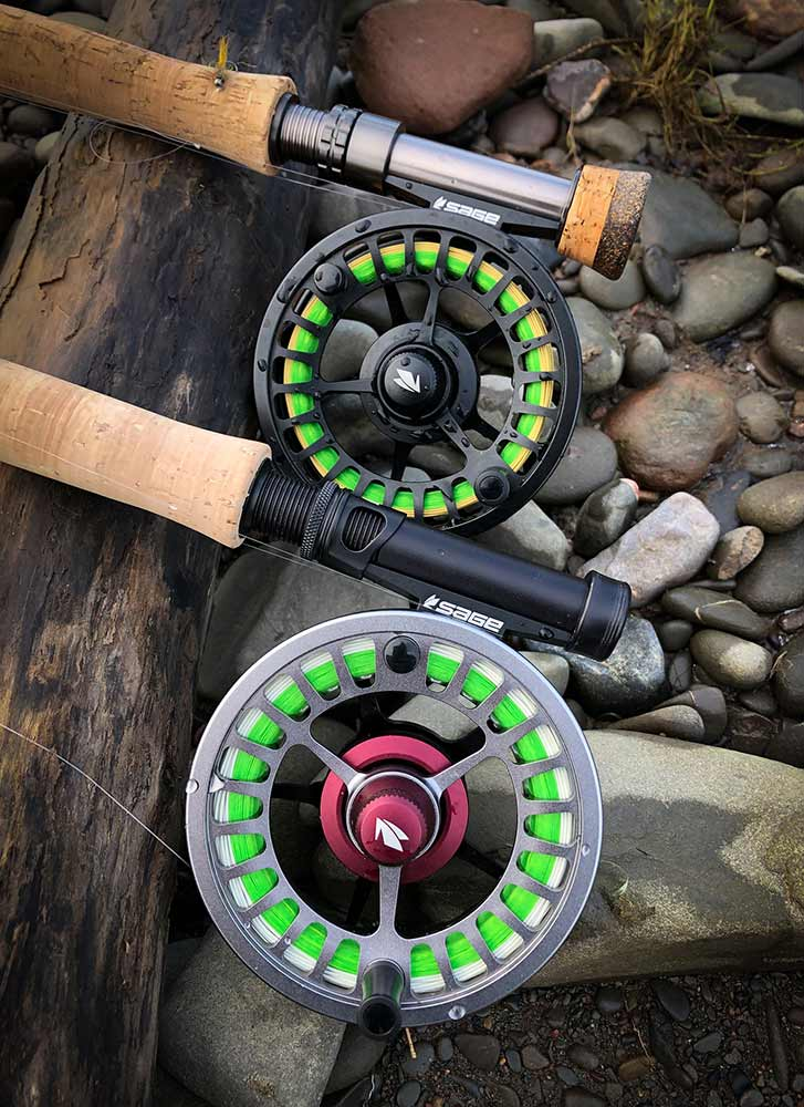 ESN reels, euronymphing, trout fishing, nymphng, French nymphing, Scotland