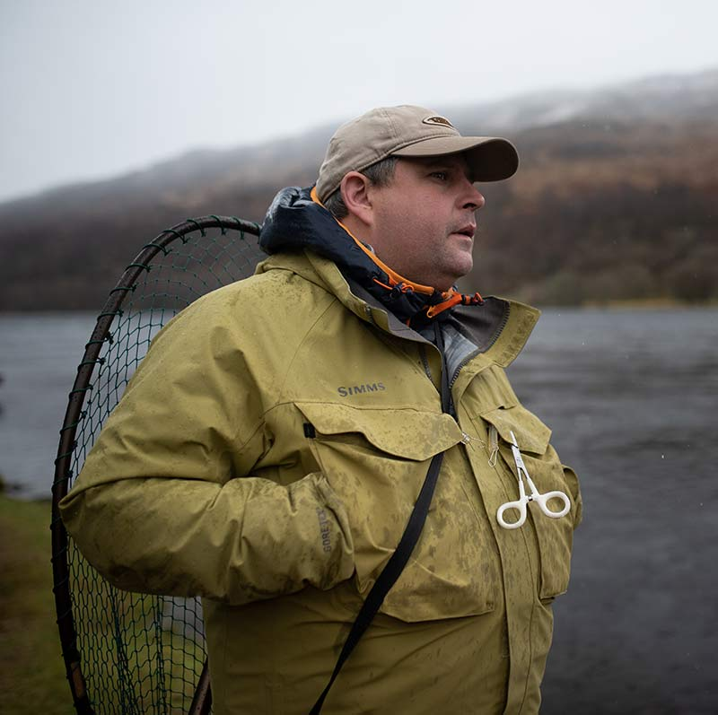 fishing guide, scotland, ghillie, trout fishing, Alba game fishing