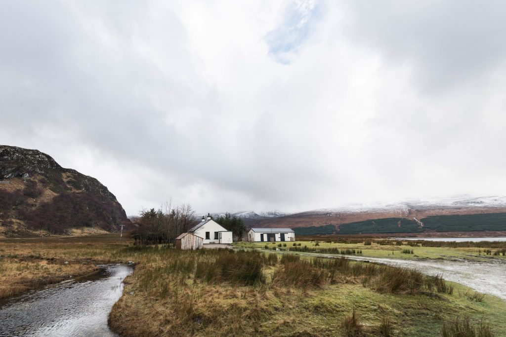 Foulain cottage, Loch Eriboll, Durness, River Polla, Salmon fishing, trout fishing, Shore fishing, pollack, beaches, staycation.