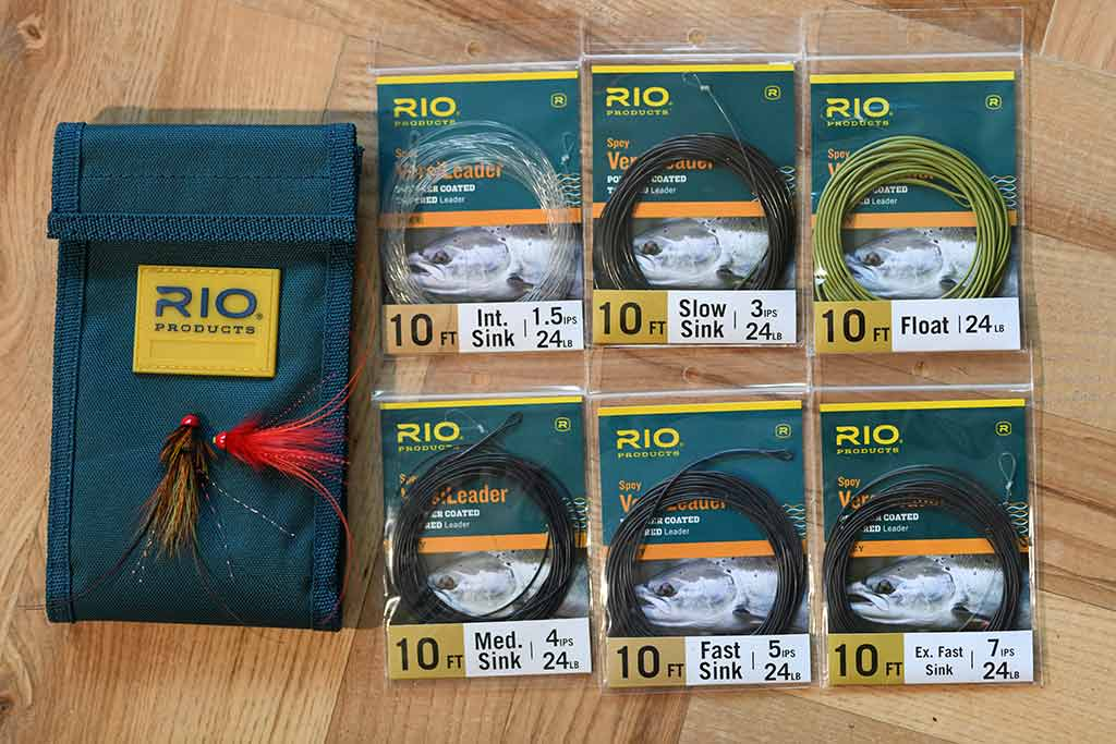 Rio verse leaders, sink tips, salmon fishing