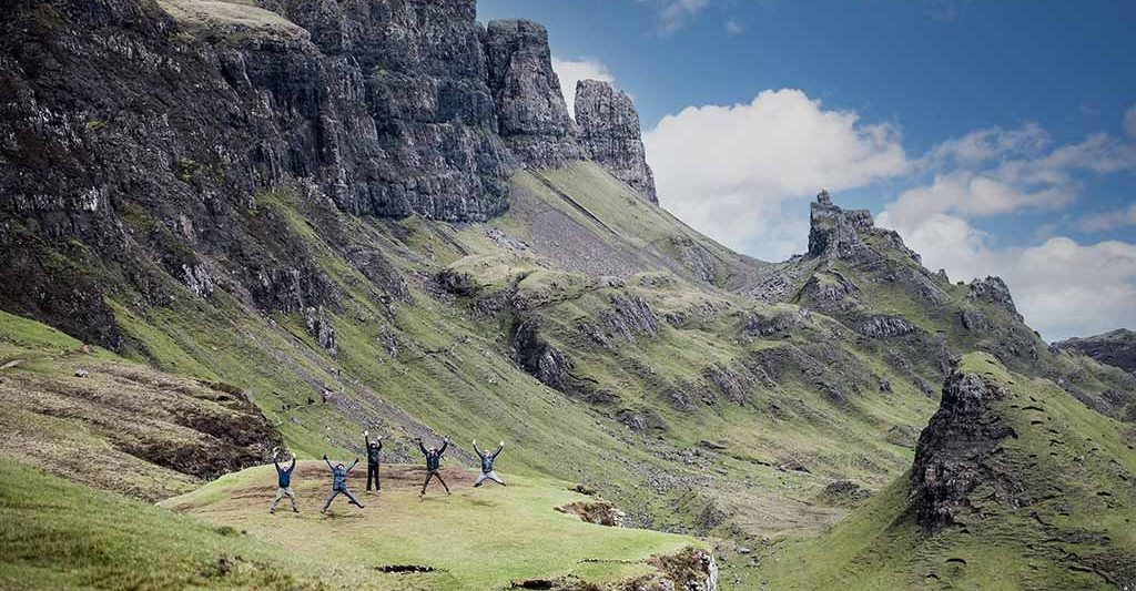 Quiraing, Old man of Storr, Skye, scenic fishing locations in Scotland, Orvis Guides, Scotland, fishing in Scotland.
