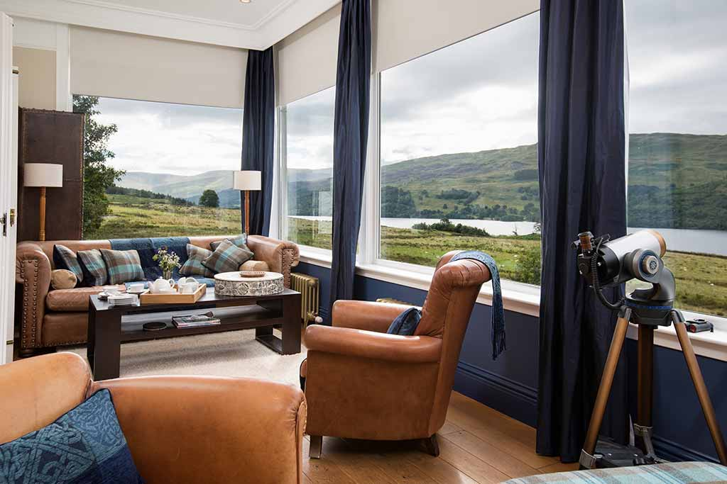 stucktaymore, Loch Tay, exclusive use, accommodation, vacation, luxury, Perthshire