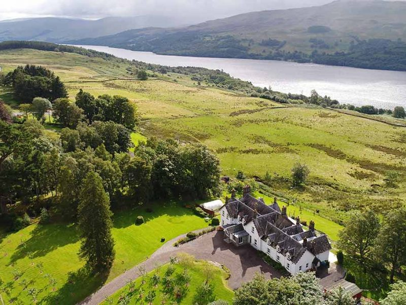 stucktaymore, Loch Tay, exclusive use, fishing, accommodation, vacation, luxury, Perthshire