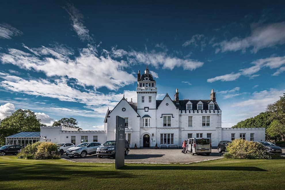 Skeabost, Isle of Skye, hotel, Scotland, fishing, River Snizort